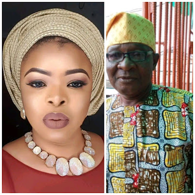Image result for Actress Dayo Amusa Loses Dad