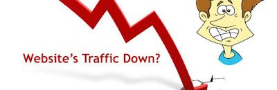 4 Penyebab Utama Trafik Pengunjung Blog Turun Sangat Drastis