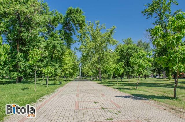 City park, Bitola, Macedonia