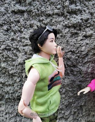 Ken doll rebody BMR Aliexpress articulated body