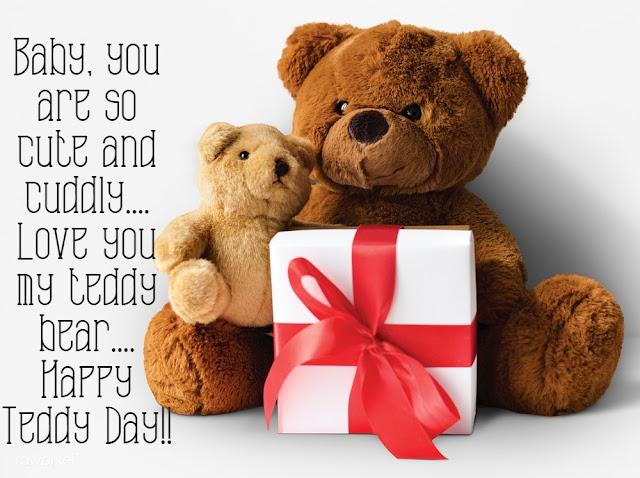 Happy Teddy Day for boyfriend