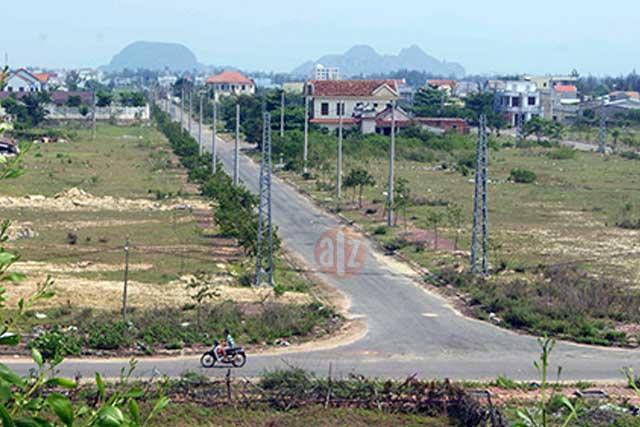 Các dự án tại Điện Nam đang đắp chiếu