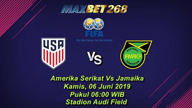 Prediksi Bola Amerika Serikat Vs Jamaika, Kamis 06 Juni 2019 Pukul 06.00 WIB