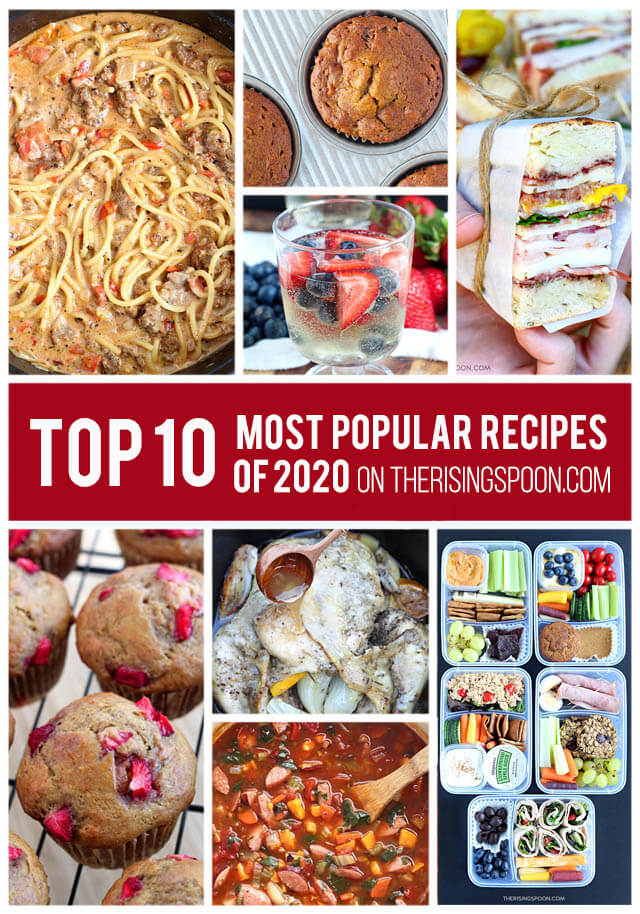 Top 10 Most Popular Recipes On The Rising Spoon in 2020