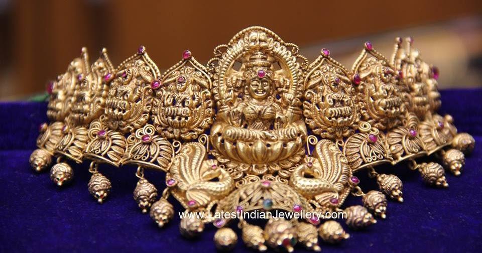 Ashta Lakshmi Nakshi Choker Latest Indian Jewellery Designs