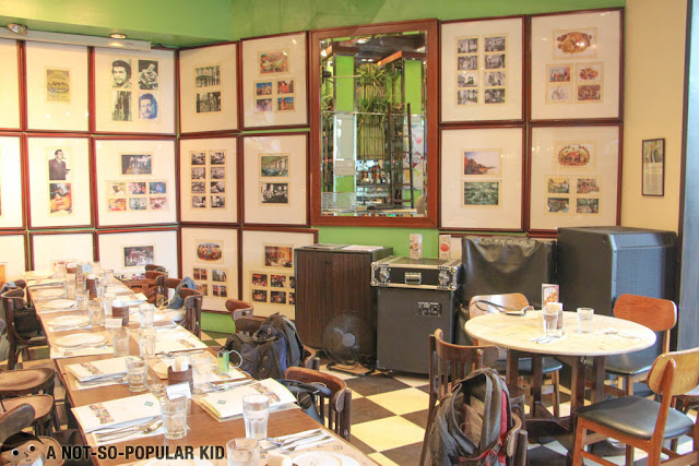 Interior of Cafe Havana in Greenbelt 3