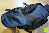 Hauptfach: Lalawow Sling Bag taktisch Rucksack Daypack Fahrradrucksack Umhängetasche Schultertasche Crossbody Bag