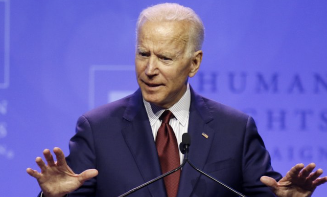 Biden declares LGBTQ rights his No. 1 legislative priority