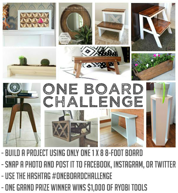 One Board Challenge for Readers Contest