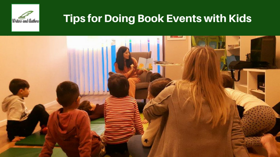 Tips for Doing Book Events with Kids @jolinsdell