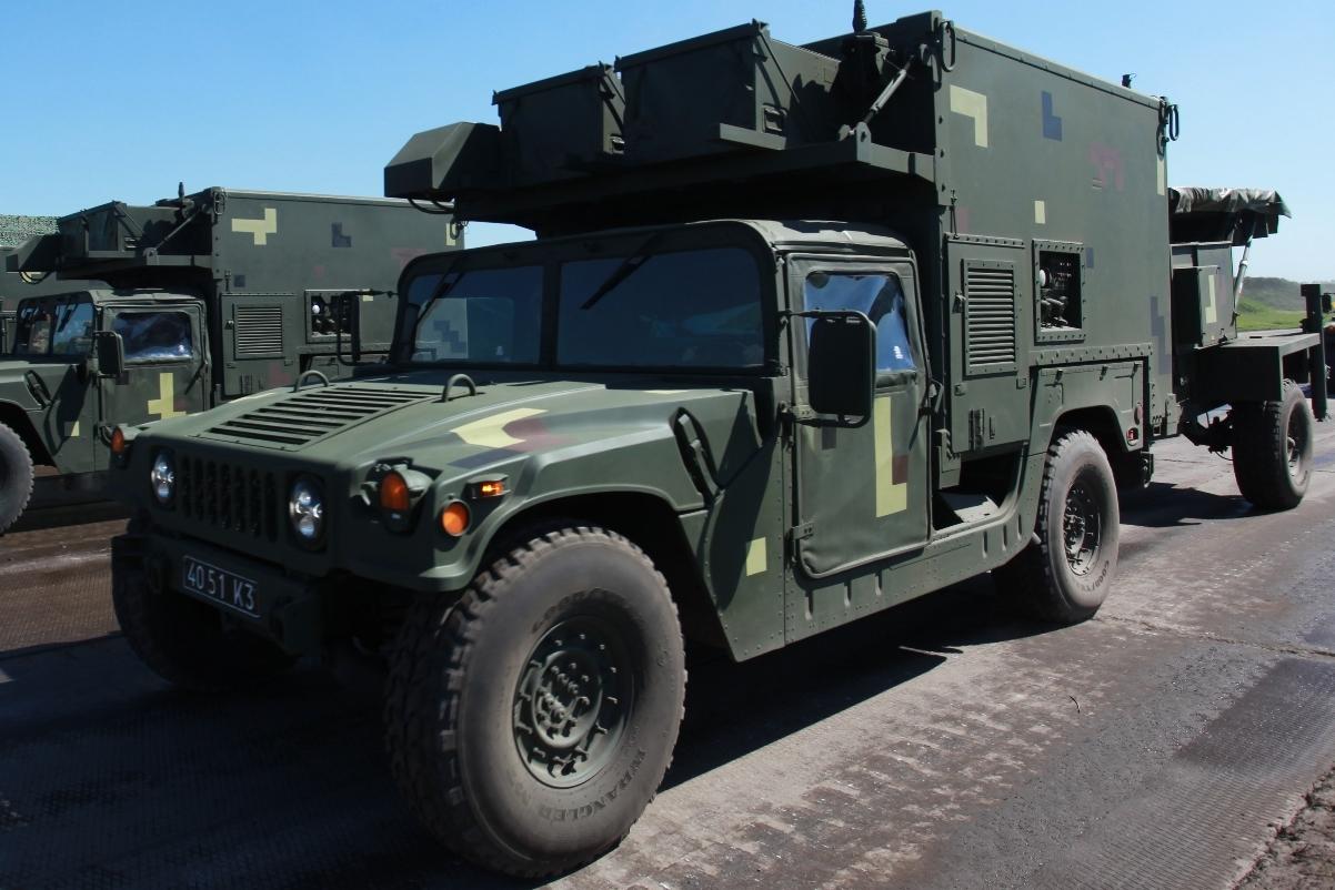 HMMWV AN/TPQ-36 М1097 4051 K3