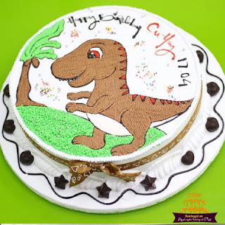 bánh-sinh-nhật-khủng-long