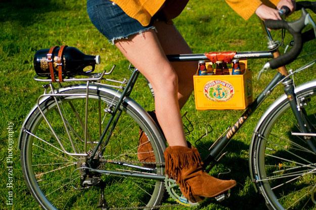Cerveja na bicicleta