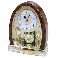 Joyful Crystal Bells Motion Musical Clock