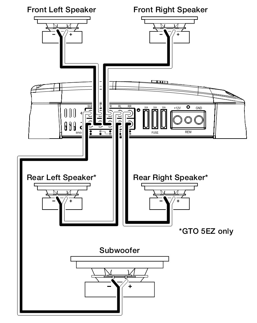 2 Way Component Speakers Wiring Diagram Auto Electrical Audio Notch Filter Circuit Tradeoficcom Related With