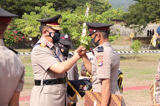 Lantik 230 Bintara Remaja Yang Di Didik Di SPN Polda NTB, Kapolda Sampaikan Pesan ini