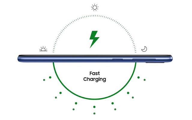 Baterai Samsung M20 dan Fitur Fast Charging Samsung M20