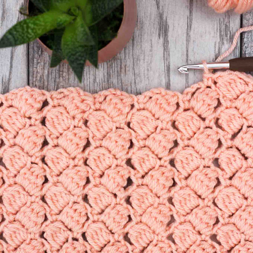 How to Crochet the Side Saddle Stitch - Tutorial
