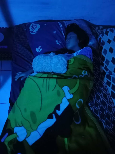 nyenyaknya tidur dengan lampu bardi smart light