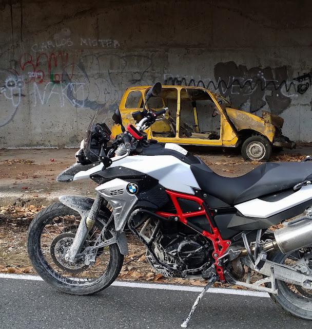 """BMW F800 GS. Trail Forever. Una """"quitapenas"""" por el Valle de Iruelas."""