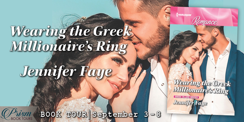 It's the Grand Finale for WEARING THE GREEK MILLIONAIRE'S RING by Jennifer Faye! #WGMRTour