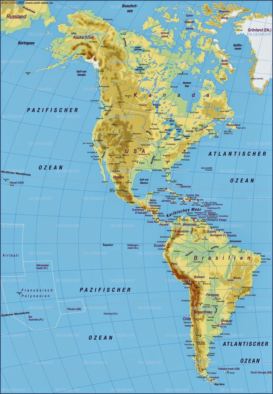 Ganz Amerika Karte Goudenelftal