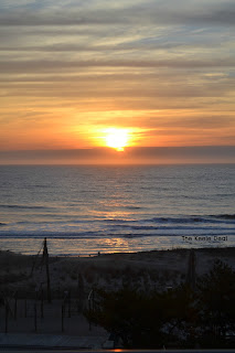 Sunrise over the Ocean in Ocean City, MD