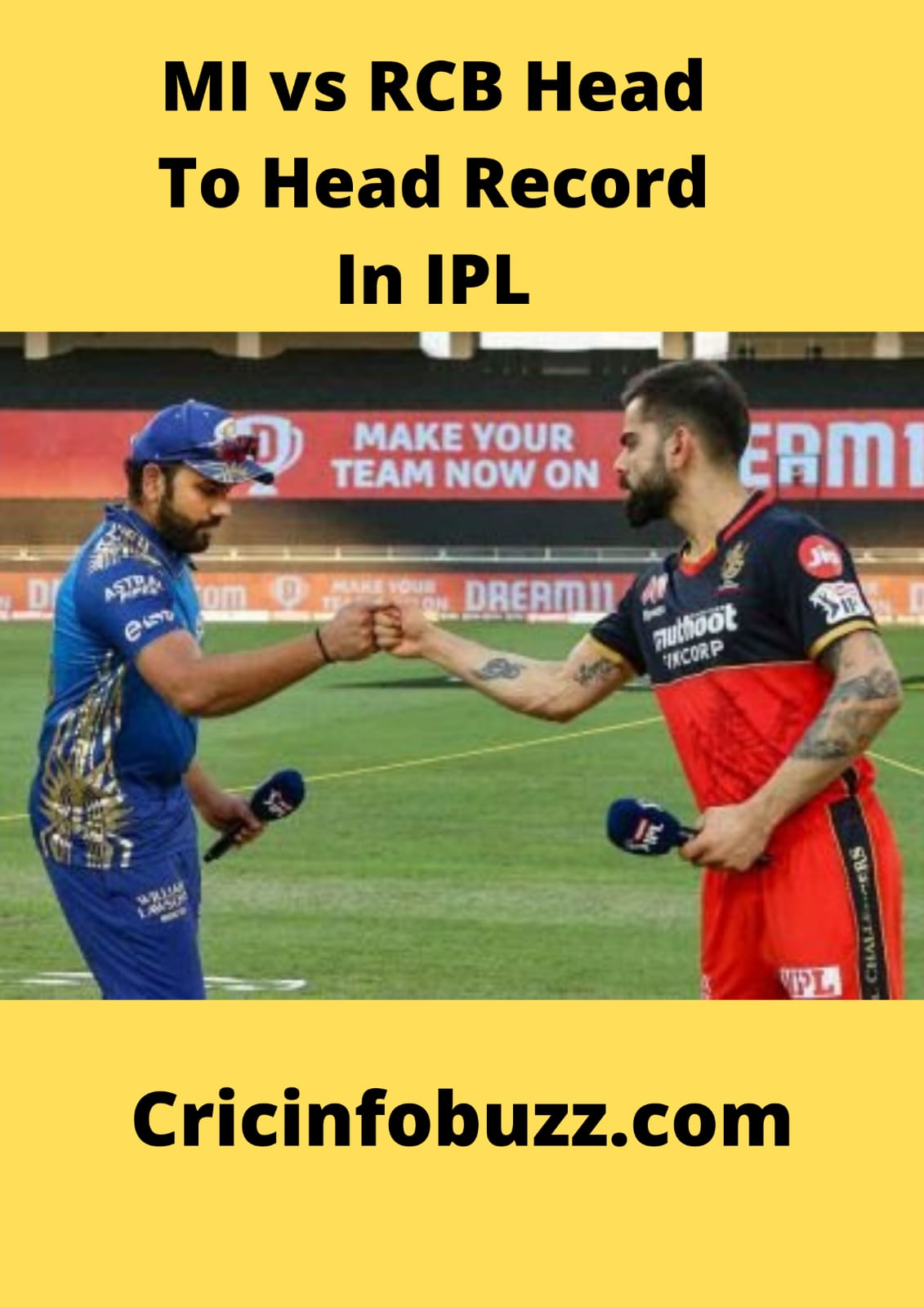 Mumbai Indians vs Royal Challengers Bangalore Head To Head Record In IPL