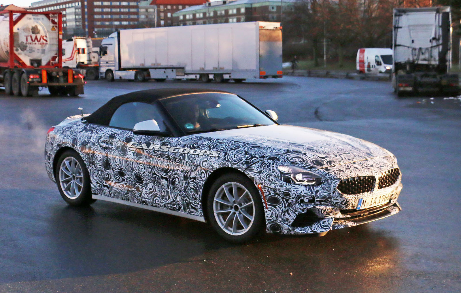 2019 Bmw Z4 Starts Dropping Camouflage As Debut Edges