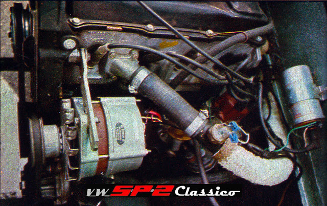 Motor do Volkswagen SP3