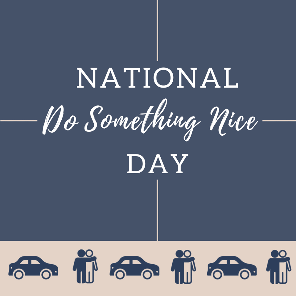 National Do Something Nice Day Wishes Beautiful Image