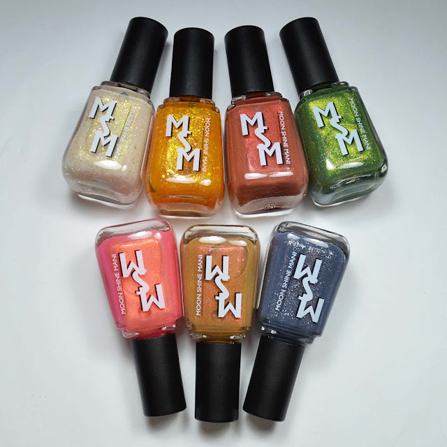 Moon Shine Mani Queen of Crime Pt 2 + Project Dupe It + June Polished Gamers Box