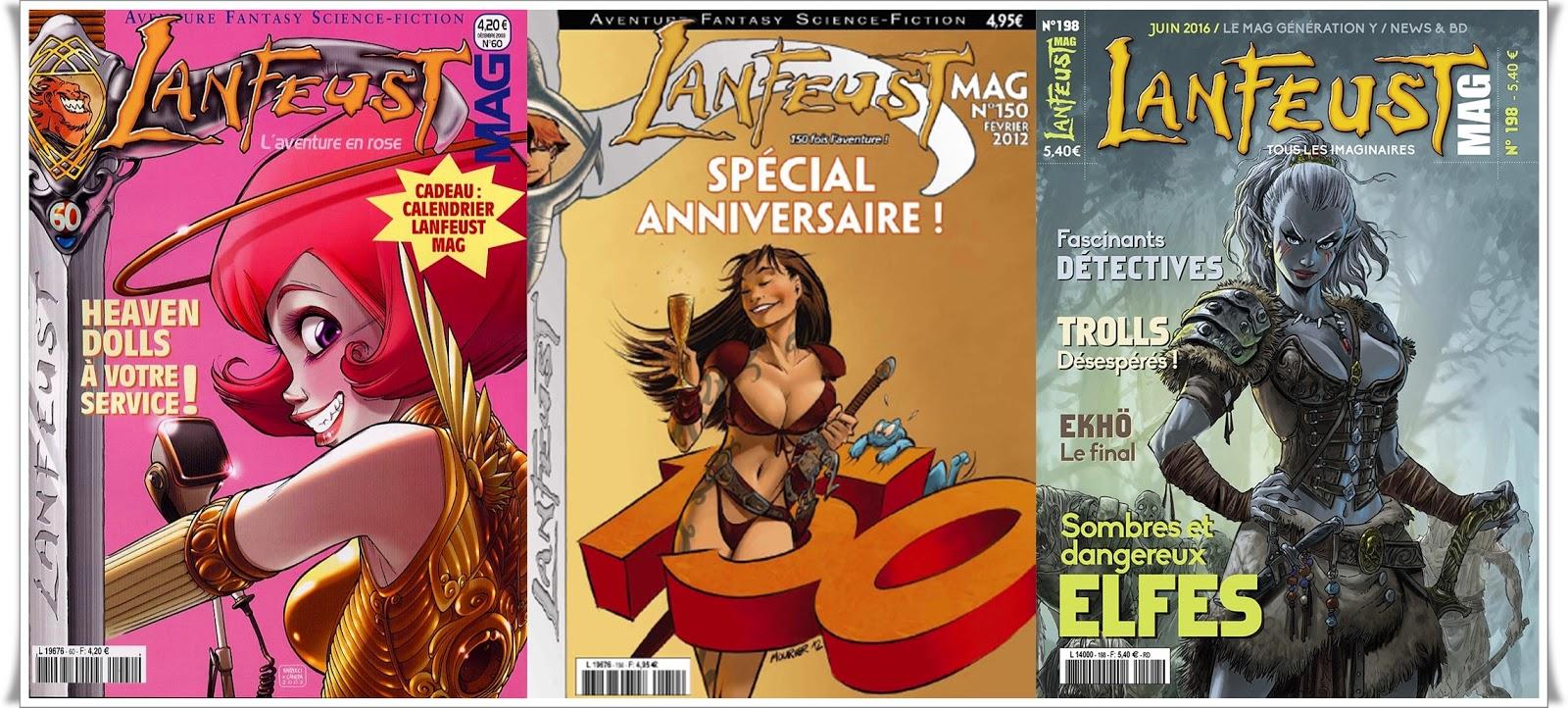 a8ffd116398 Δημιουργημένο το 1998 από τους Christophe Arleston,Dominique Latil και  Mourad Boudjellal το περιοδικό δημοσίευε ιστορίες κόμικ σχεδόν από όλα τα  ...