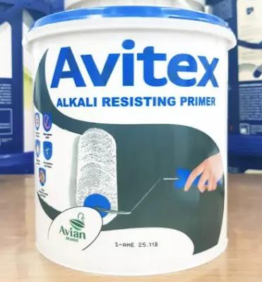 Cat Dasar Tembok Avitex Alkali Resisting Primer