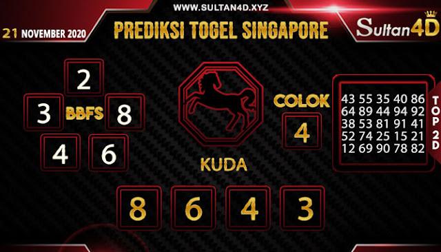 PREDIKSI TOGEL SINGAPORE SULTAN4D 21 NOVEMBER 2020