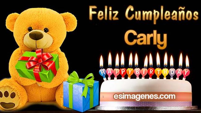 Feliz Cumpleaños Carly