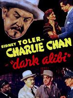 Póster película Charlie Chan en Alcatraz (Dark Alibi)