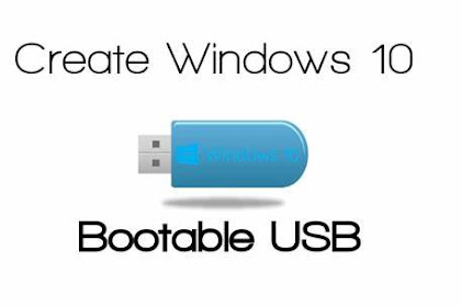 Create a USB recovery flash drive for Windows 10