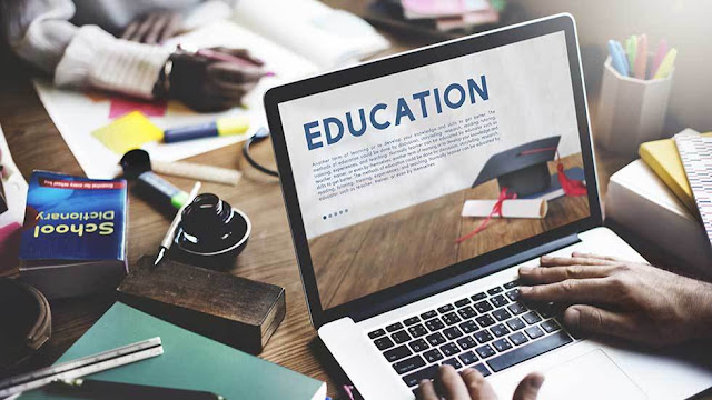 Ilustrasi Pendidikan Jarak Jauh (PJJ)