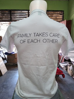 Sablon Kaos PI Family