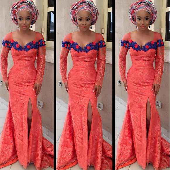 Toke MAKINWA AT tOOLZ WEDDING
