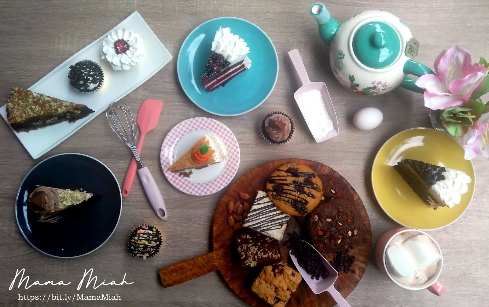 Cakes and Pastries at Yolks Flower Cafe + Cupcakery - Davao City - #MamaMiah
