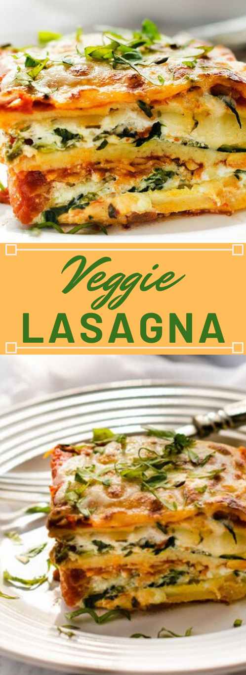 EASY VEGETABLE LASAGNA RECIPE  #dinner #recipes #family #cooking #lasagna