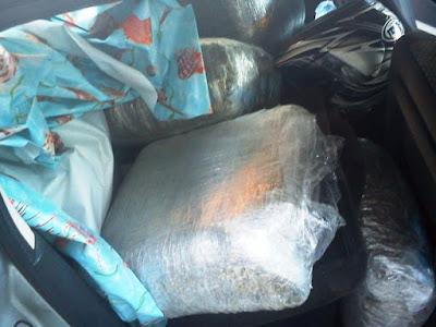 Εντοπίστηκε σάκος με 20 κιλά κάνναβης