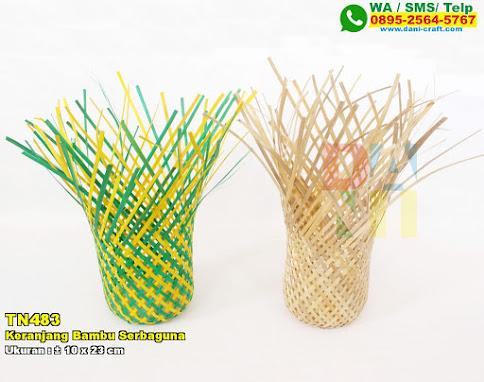 Keranjang Bambu Serbaguna