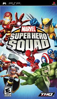 Marvel Super Hero Squad PSP GAME ISO