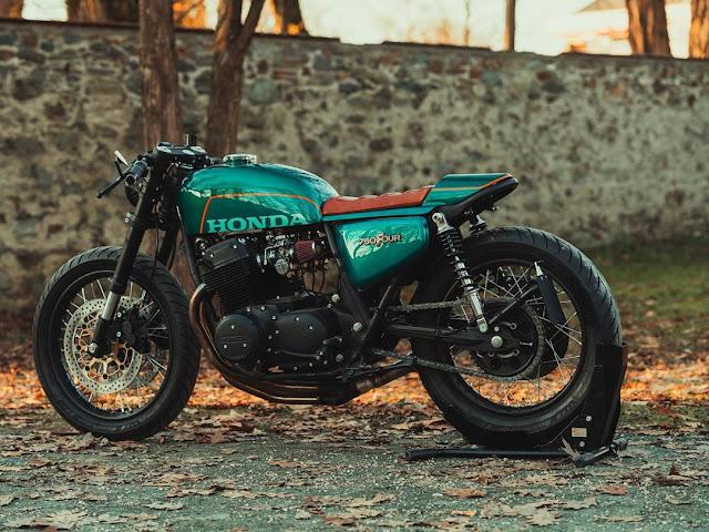 Honda CB750 By NCT Motorcycles Hell Kustom