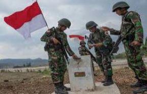 TNI Penjaga NKRI   Sumber : nasional.okezone.com