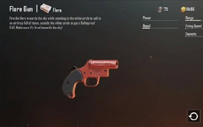 Thoạt trông Flare Gun hình như một khẩu pháo lục bình thường có màu đỏ sặc sỡ
