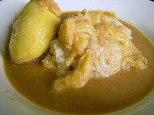 Kolak Ketan Durian